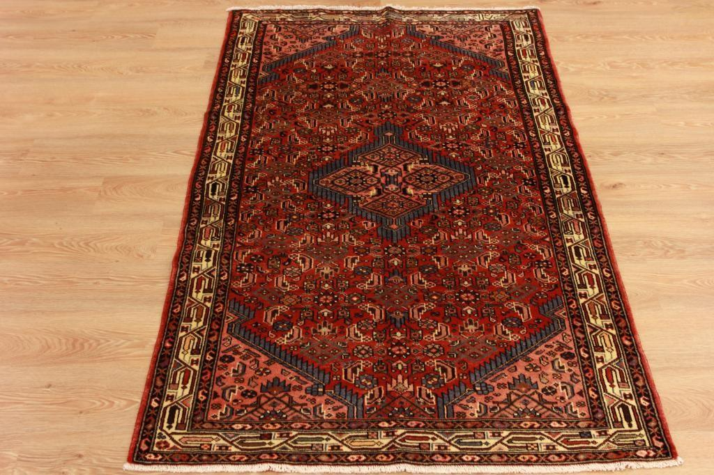 Timeless Red Antique Persian Floor Carpet High End