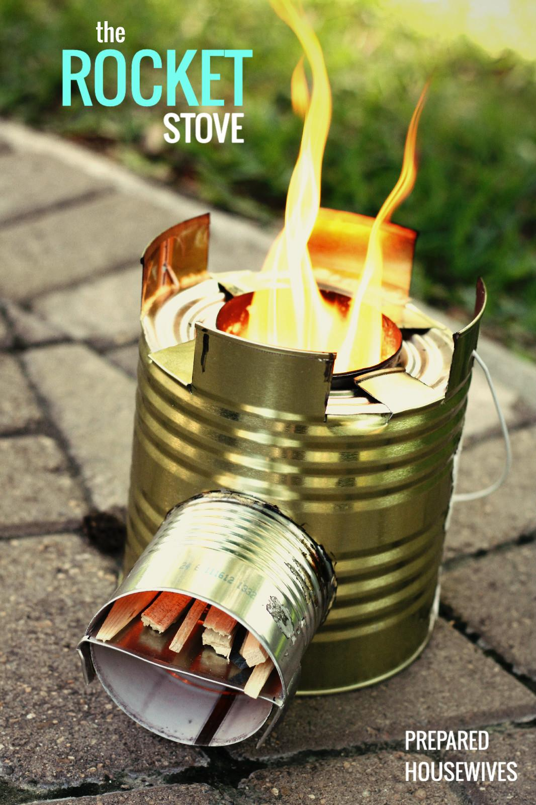 Tin Can Diy Rocket Stove Lpc Survival