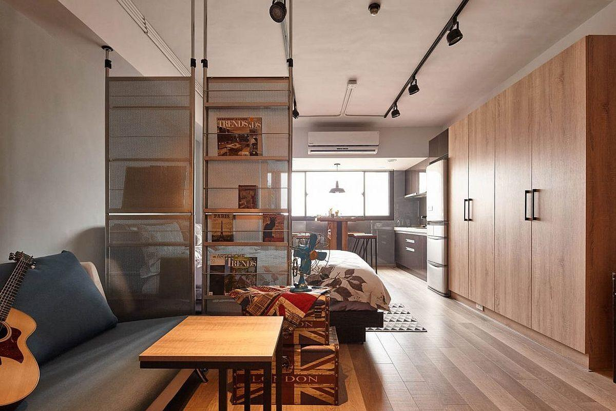 Tiny Industrial Loft Style Apartment Taipei City