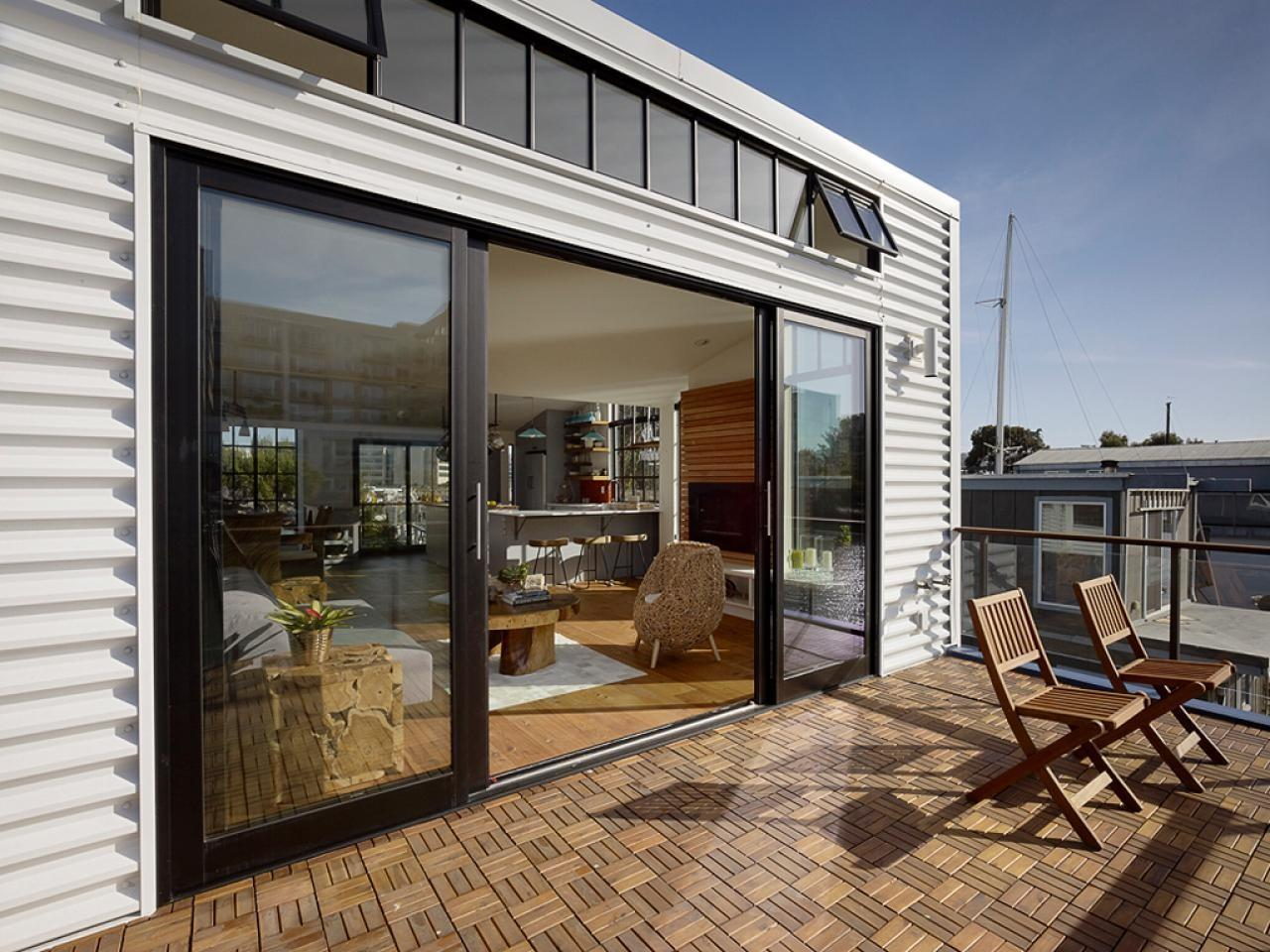 Tiny Modern Floating House San Francisco Fresh Faces
