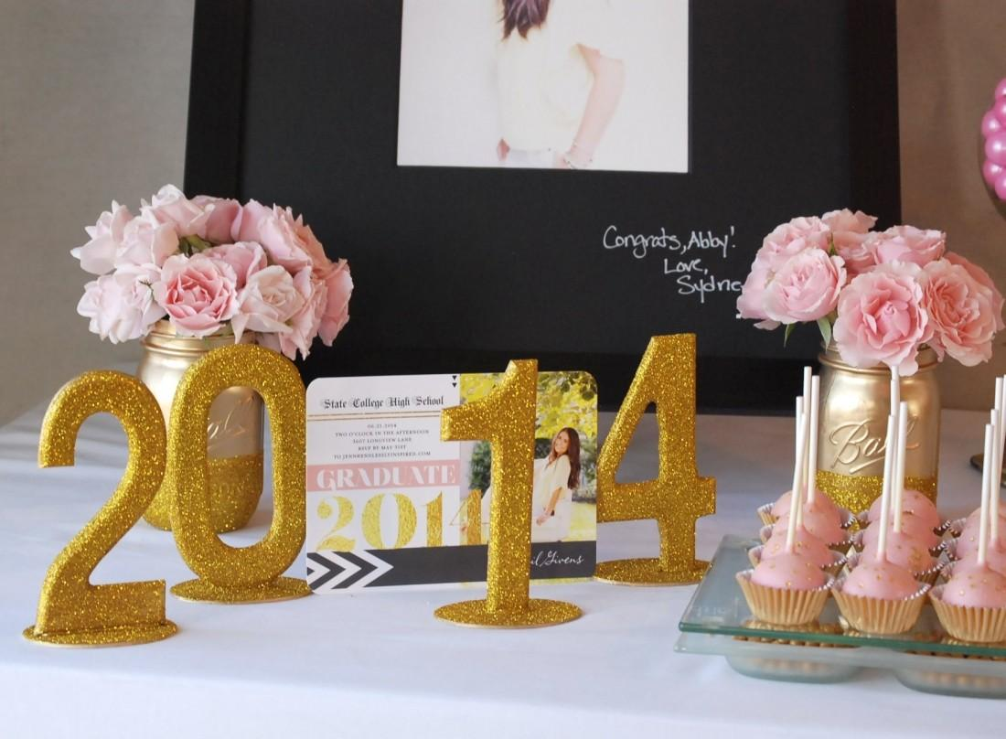 Tiny Prints Inspired Graduation Party Endlessly