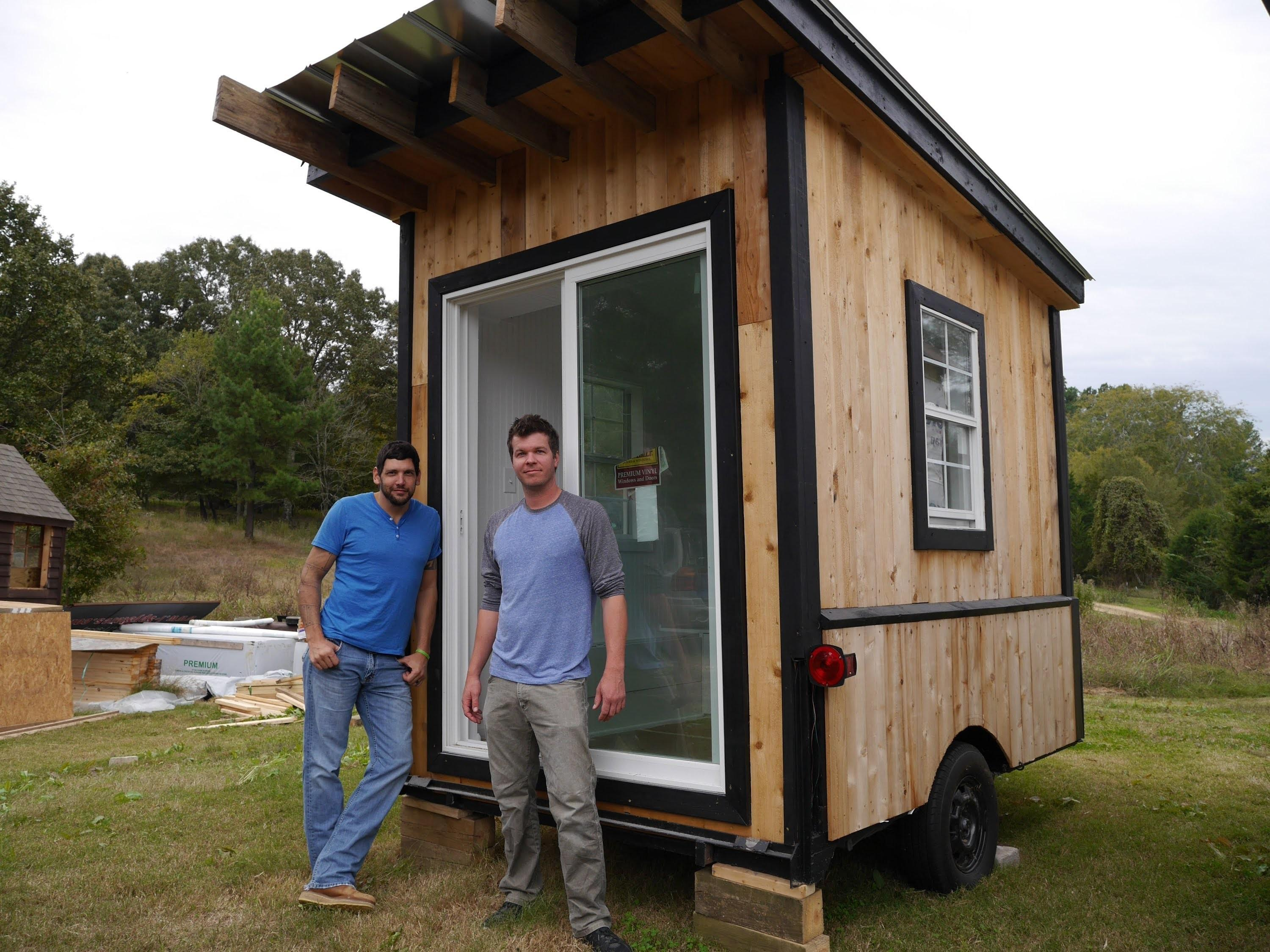 Tiny Tailgating House Cabin Wheels Square Foot