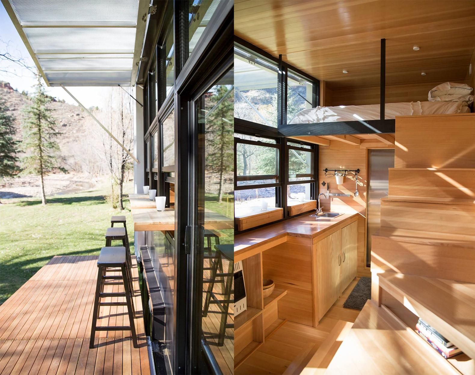 Tiny Towable Eco Home Helps Reconnect Nature