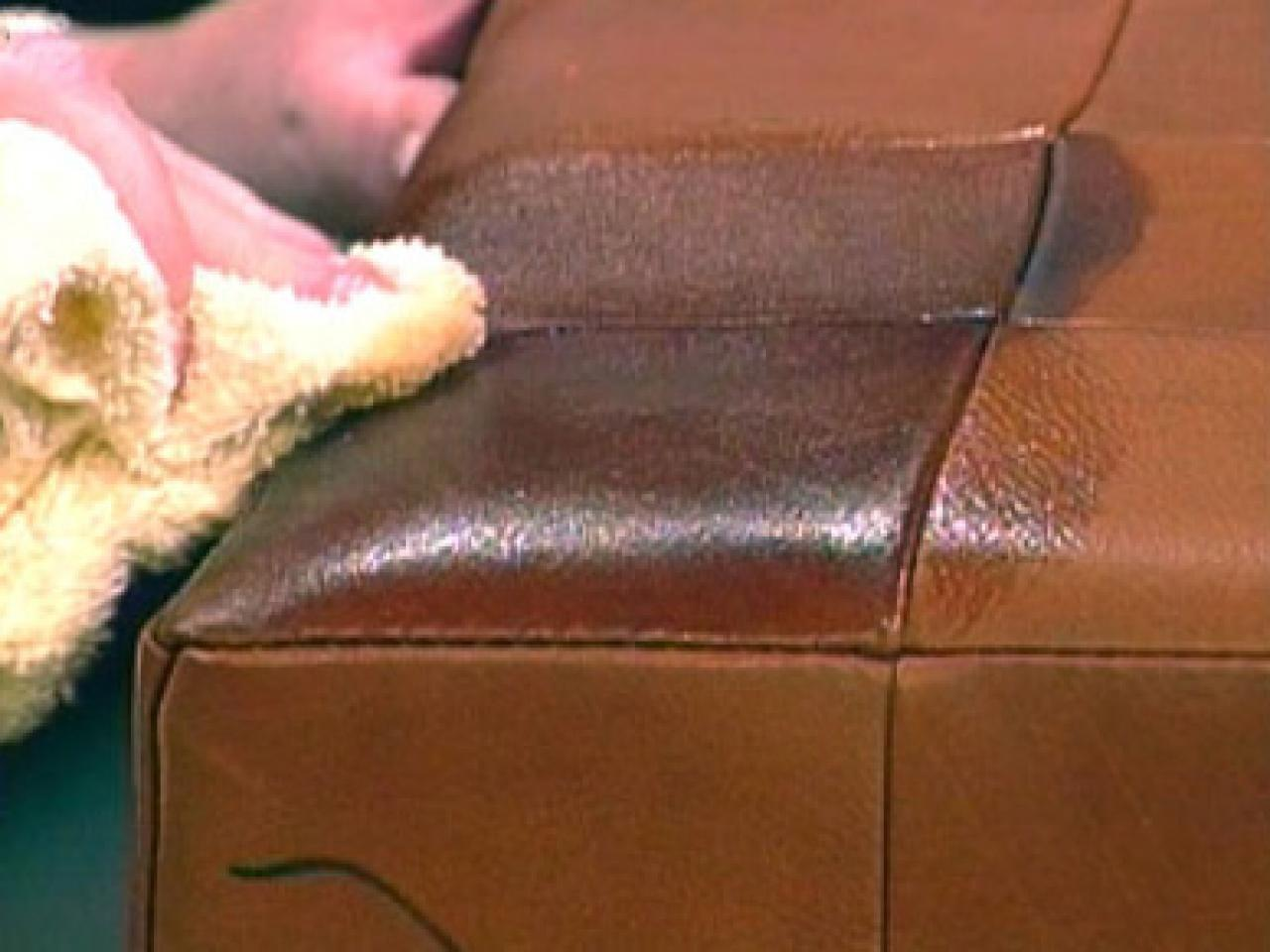 Tips Cleaning Leather Upholstery Diy