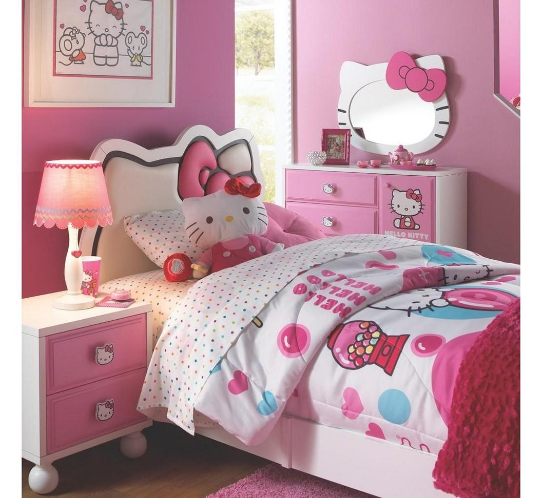 Tips Create Most Unique Girly Hello Kitty Room