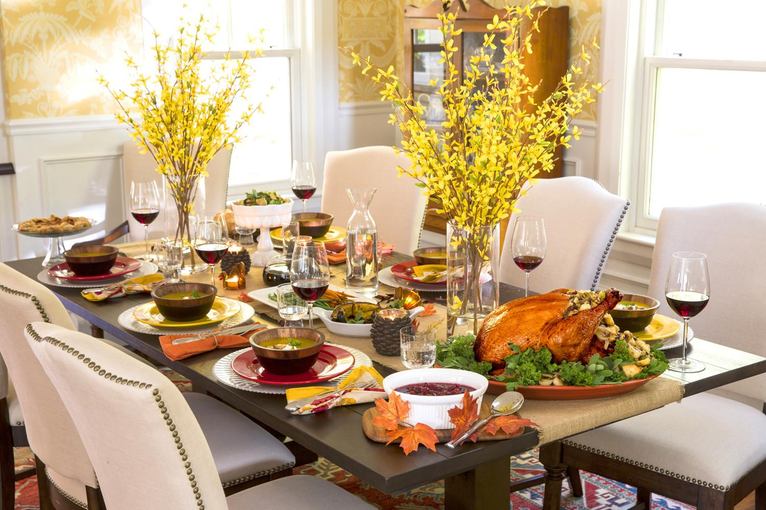Tips Decorating Setting Your Thanksgiving Table
