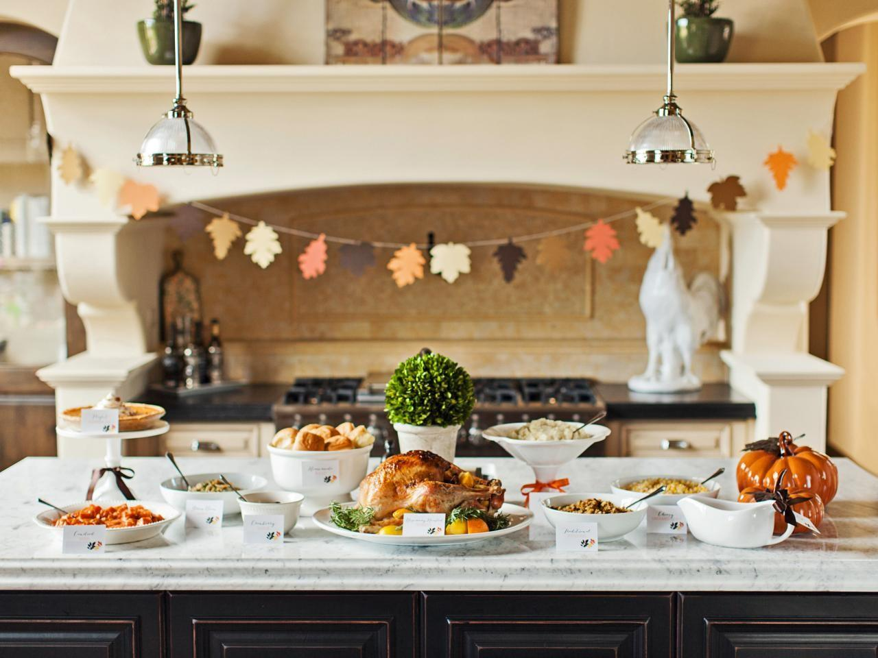 Tips Hosting Potluck Dinner Thanksgiving Plus