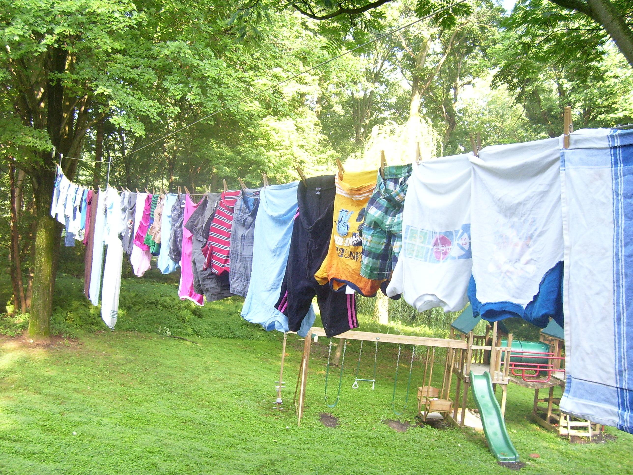 Tips Line Drying Laundry Quiver Blessings