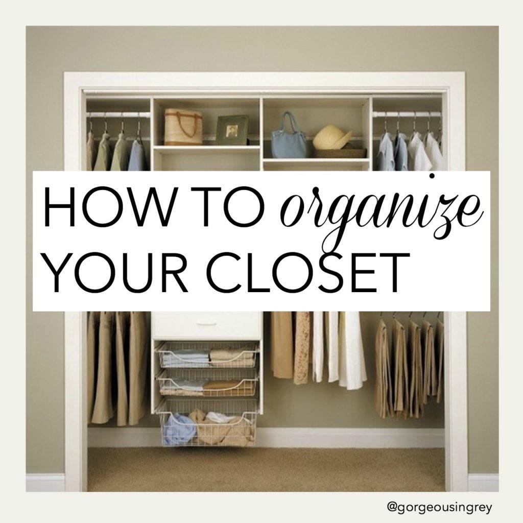 Tips Organizing Small Closet Johnmilisenda