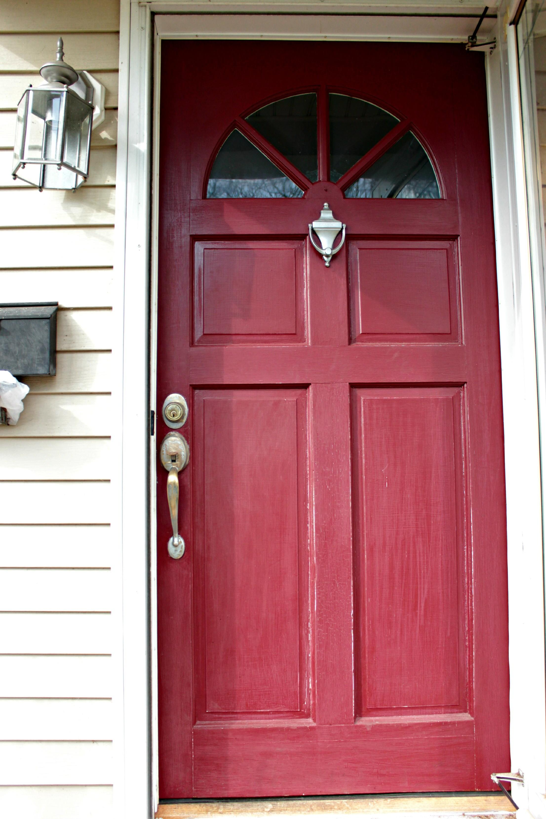 Tips Paint Front Door
