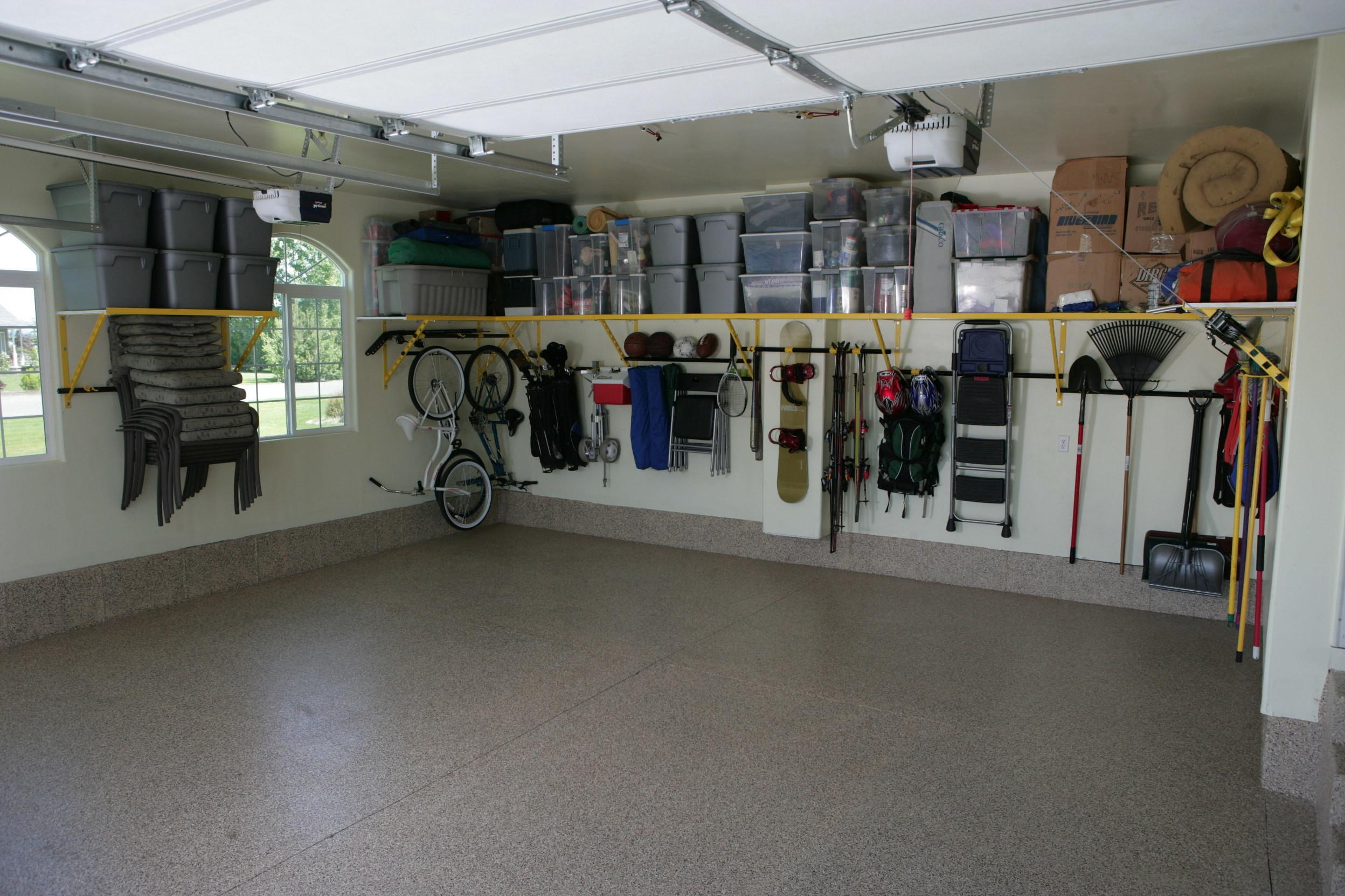 Tips Winterizing Your Garage Monkey Bar Storage
