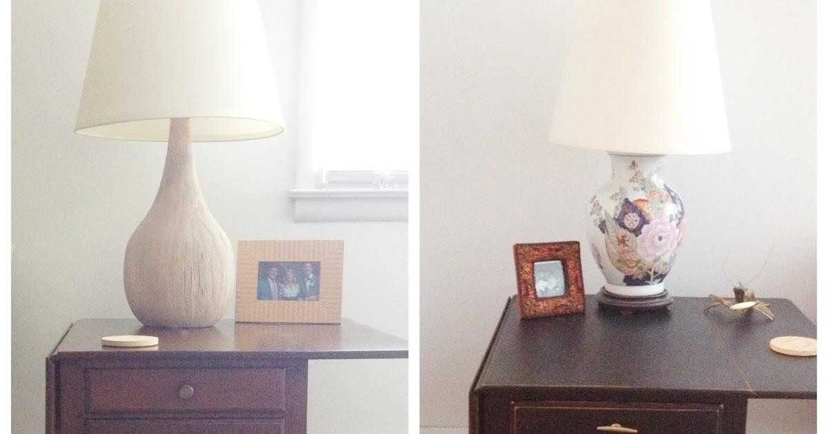 Tiptoethrough Before After Side Table Makeover