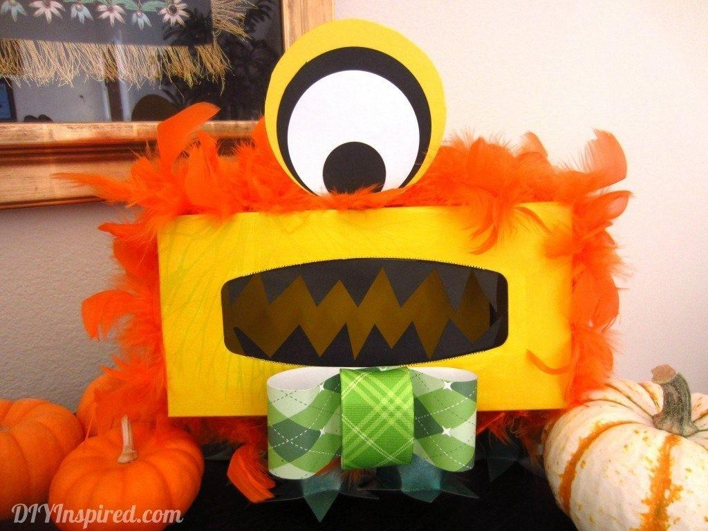 Tissue Box Monster Diy Inspired Colormag