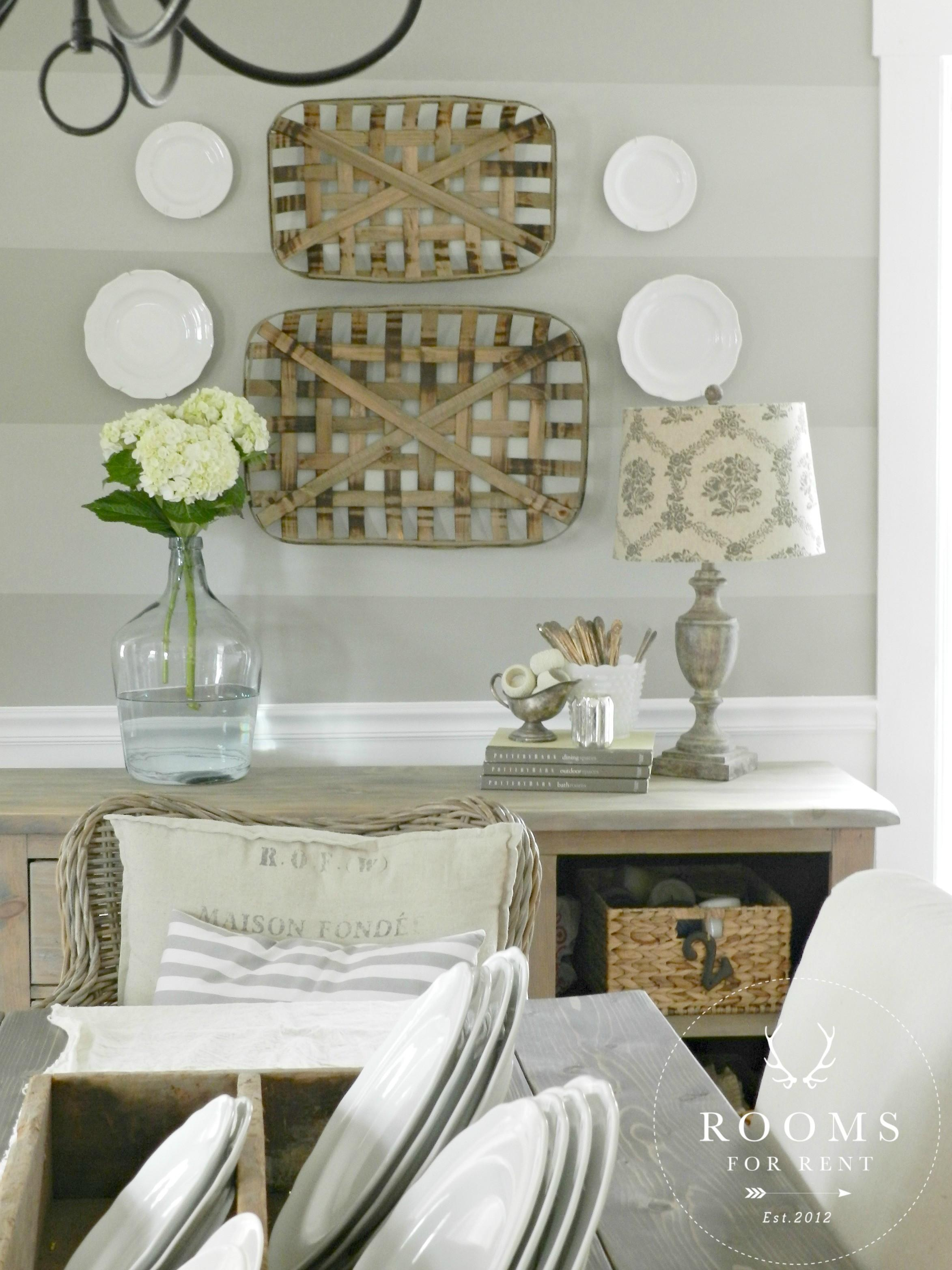 Tobacco Baskets Wall Decor Giveaway Rooms Rent Blog