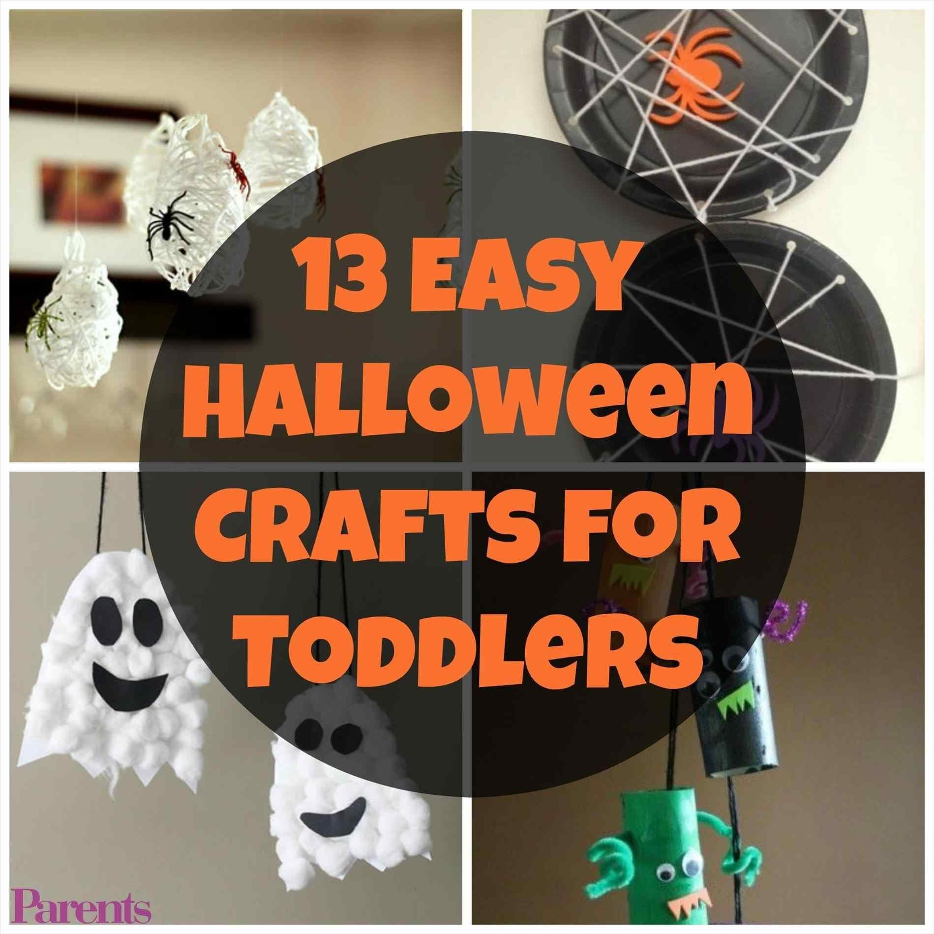 Toddlers Onechitecture Diy Easy Halloween Crafts