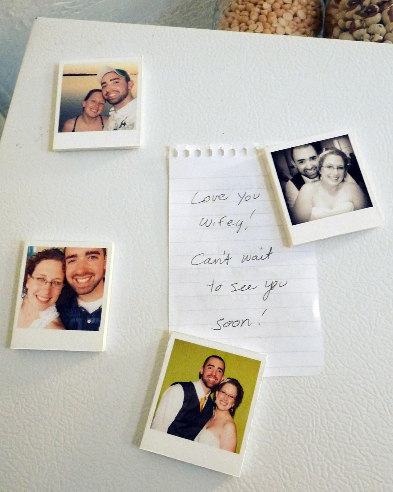 Together Think Funny Diy Polaroid Magnets