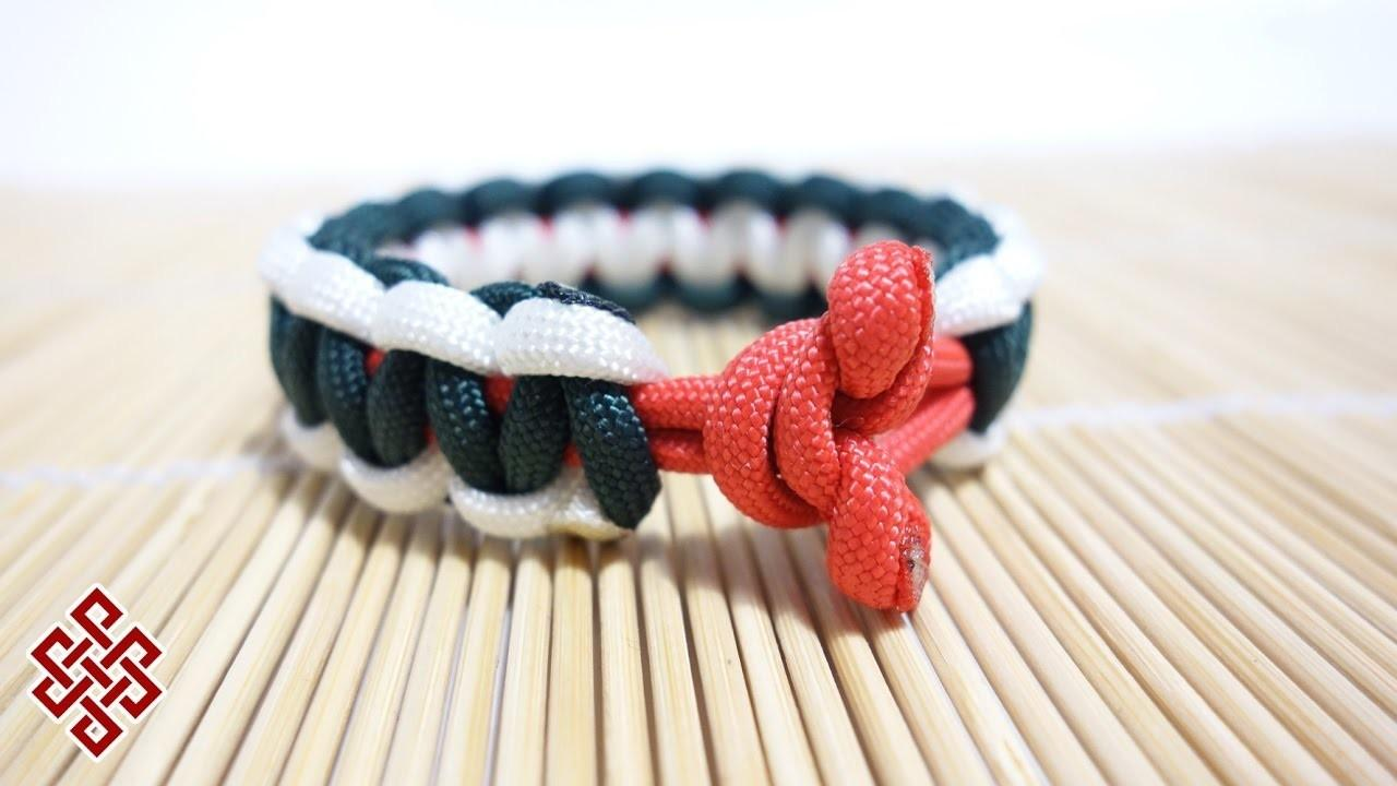 Toggle Knot Paracord Bracelet Clasp Tutorial Crafts