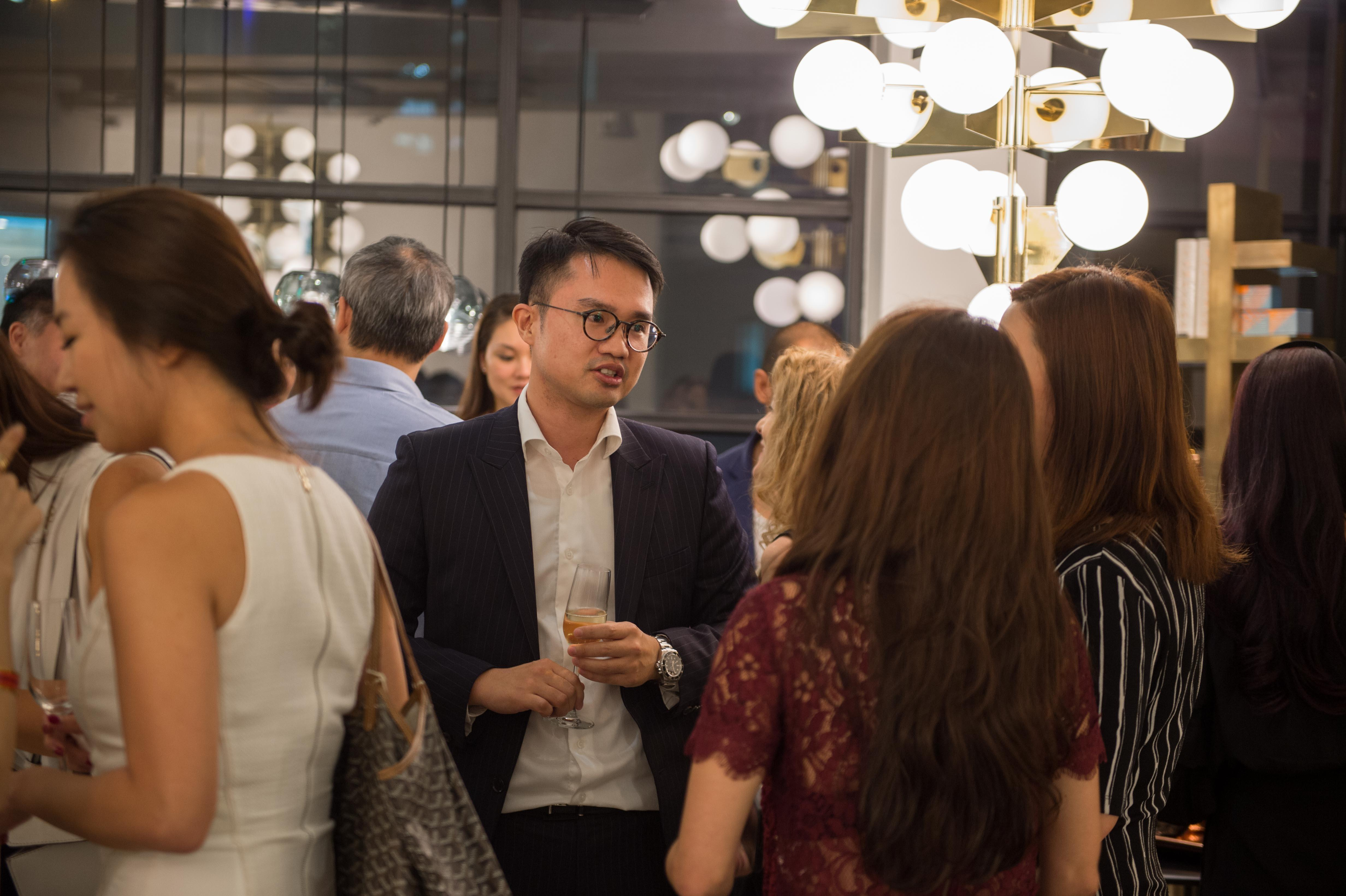 Tom Dixon 2017 Collection Launch Asia Bankers Club