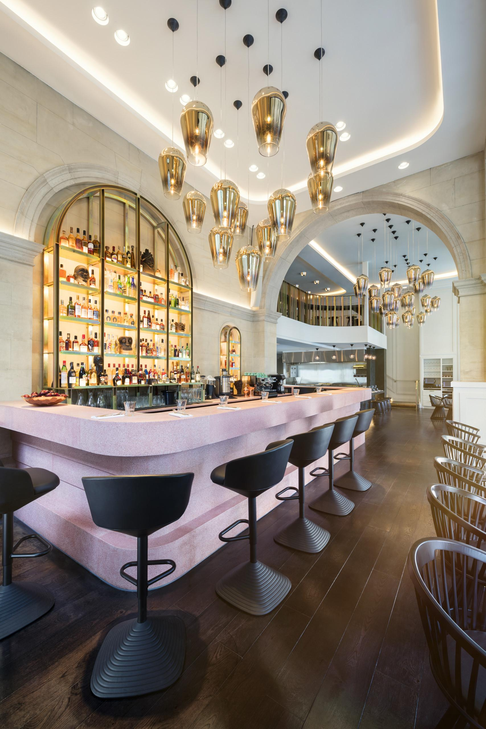 Tom Dixon Designs Interiors New London Restaurant