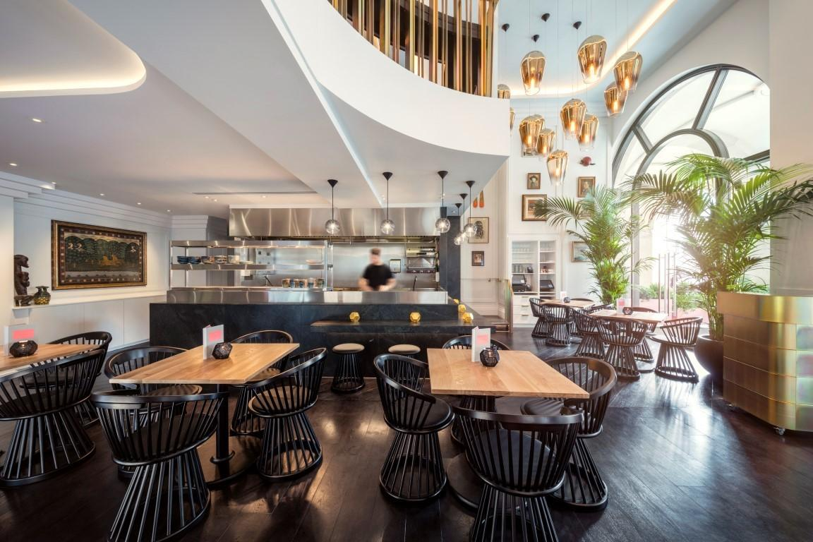 Tom Dixon Presents Bronte Restaurant London Luxpad