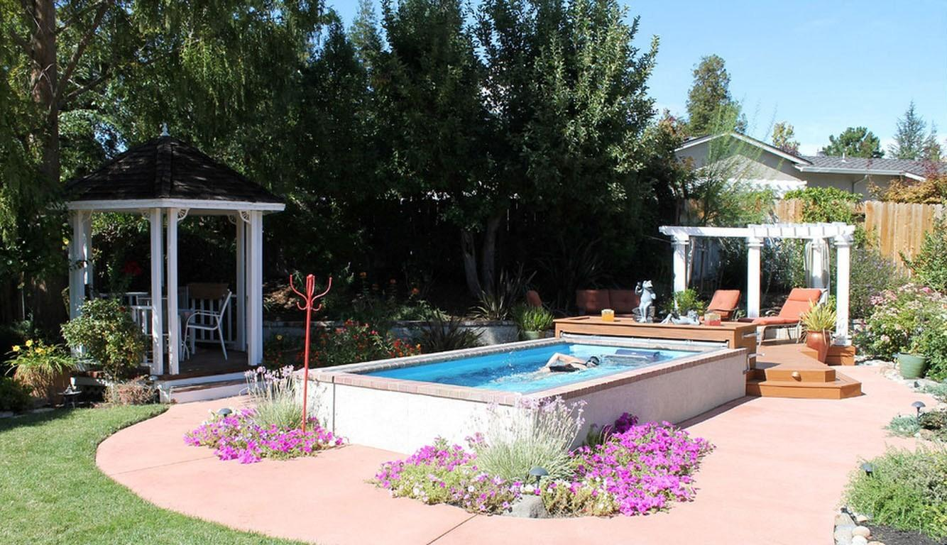 Top Above Ground Pool Landscaping Ideas Design Decors