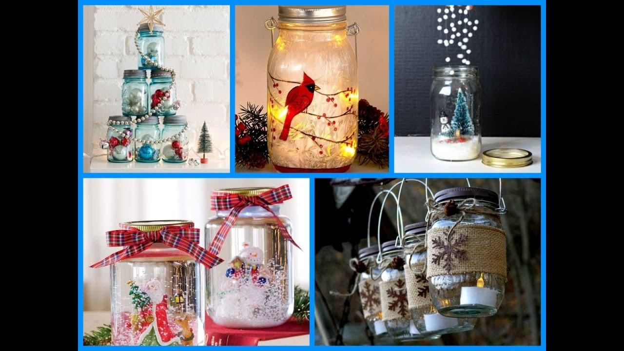 Top Christmas Mason Jar Craft Ideas Attachment Diy