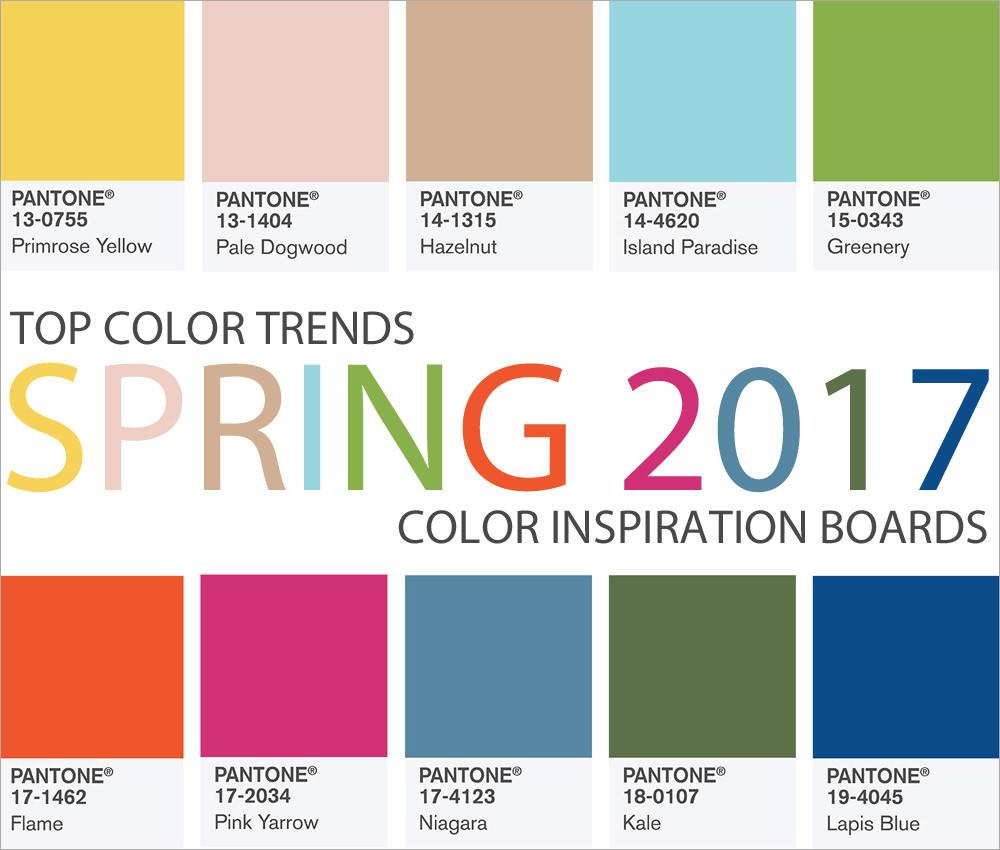 Top Color Trends Spring 2017 Sew4home