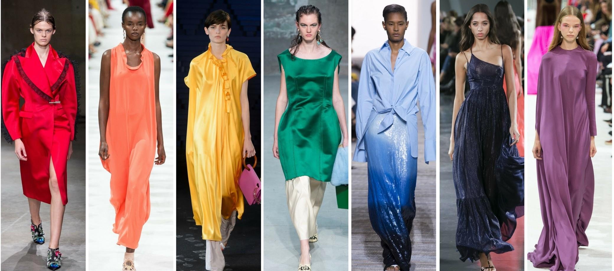 Top Color Trends Spring 2018 Shows Crush