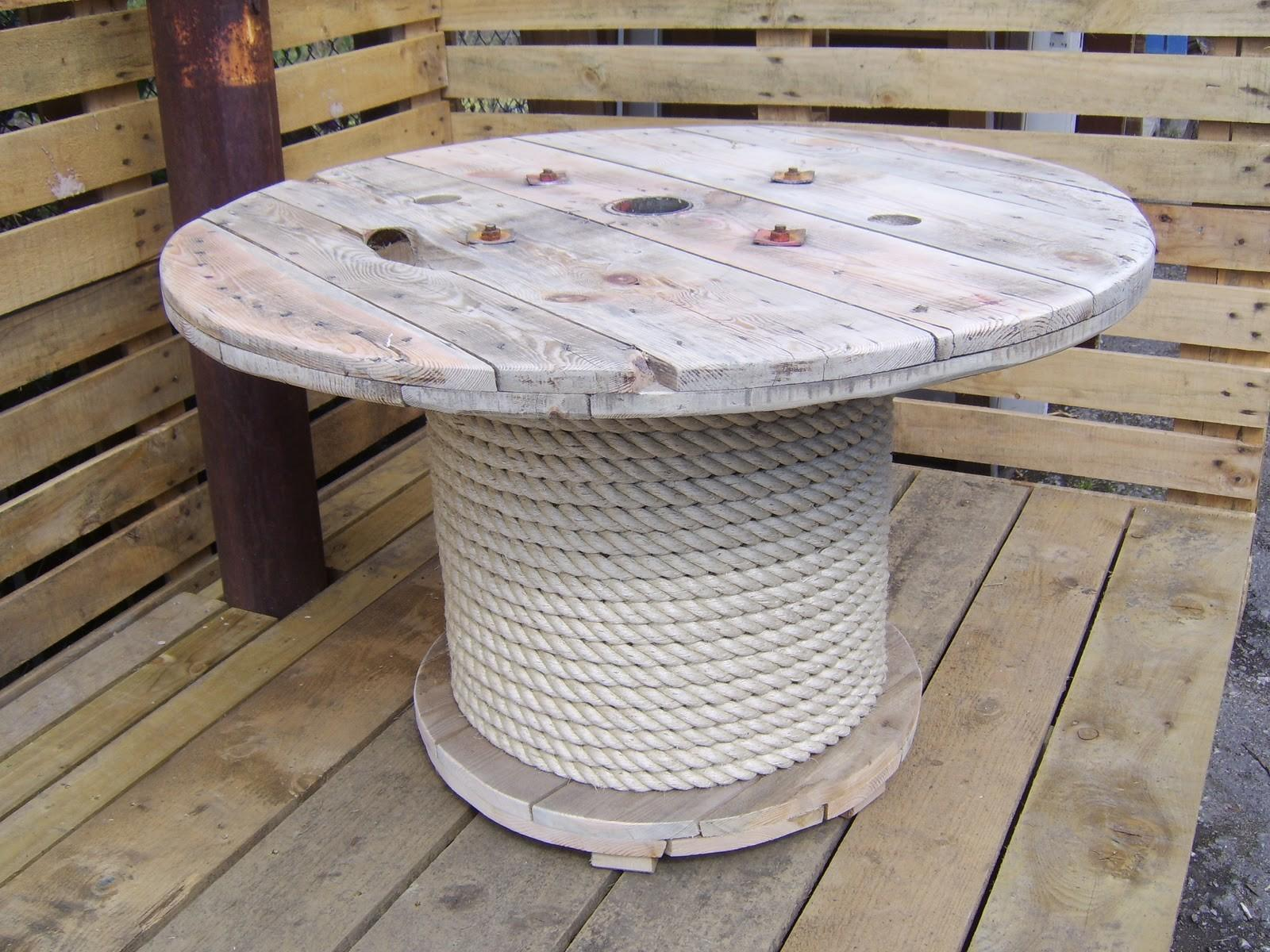 Top Cool Cable Spool Coffee Table Hack Ideas