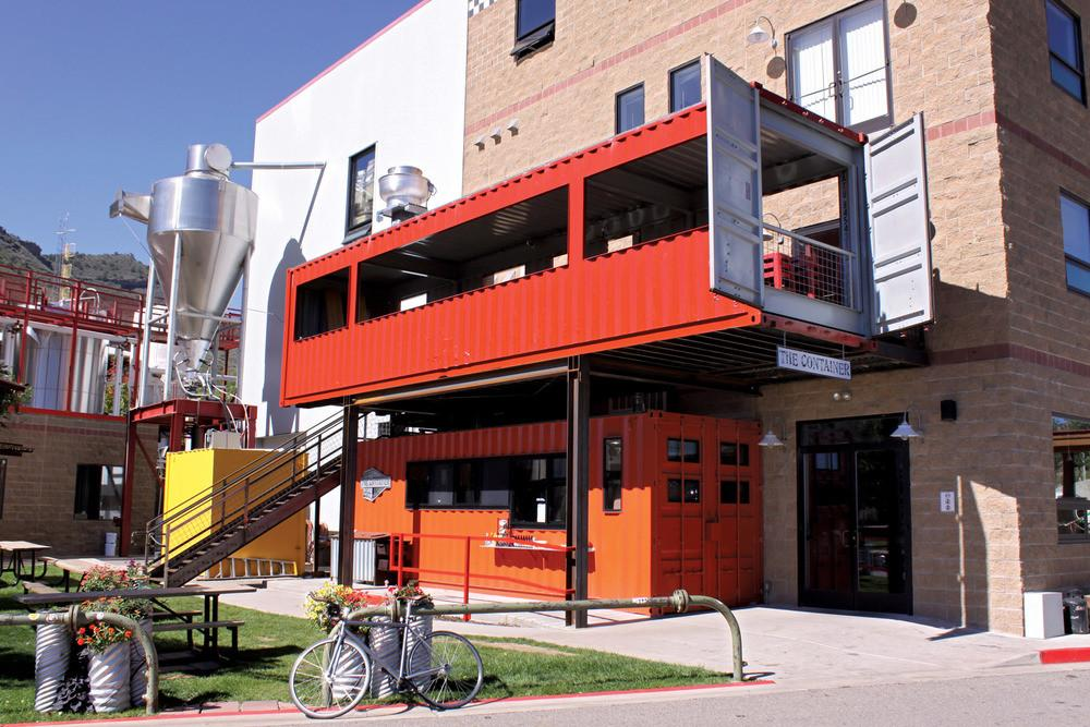 Top Coolest Restaurants Inside Shipping Containers