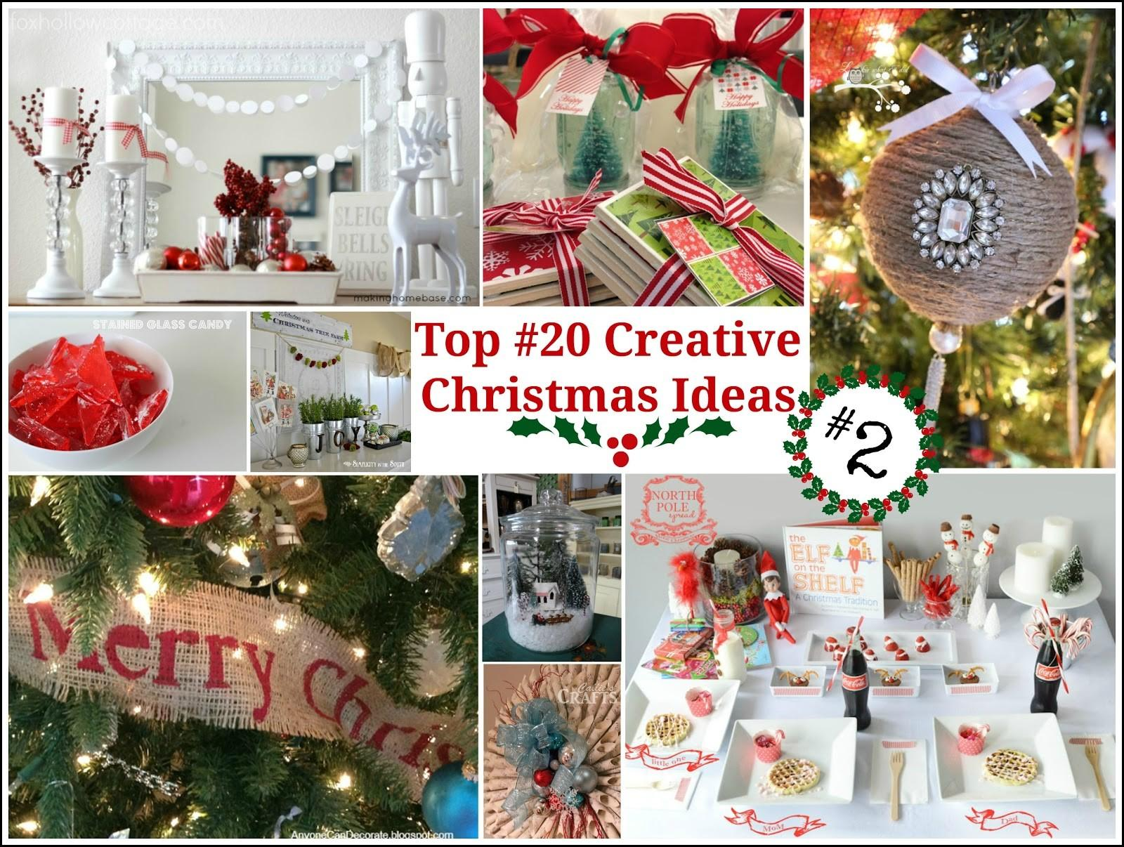 Top Creative Christmas Ideas Fox Hollow Cottage
