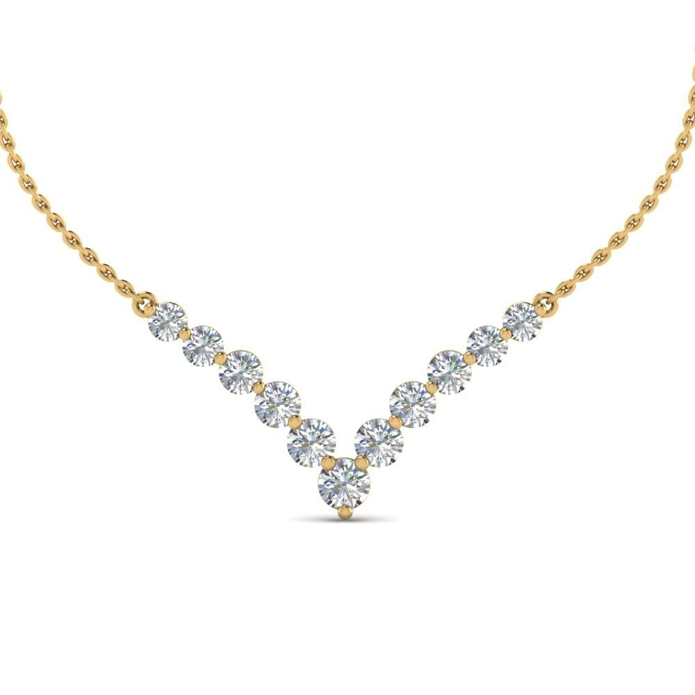 Top Diamond Necklace Designs Women