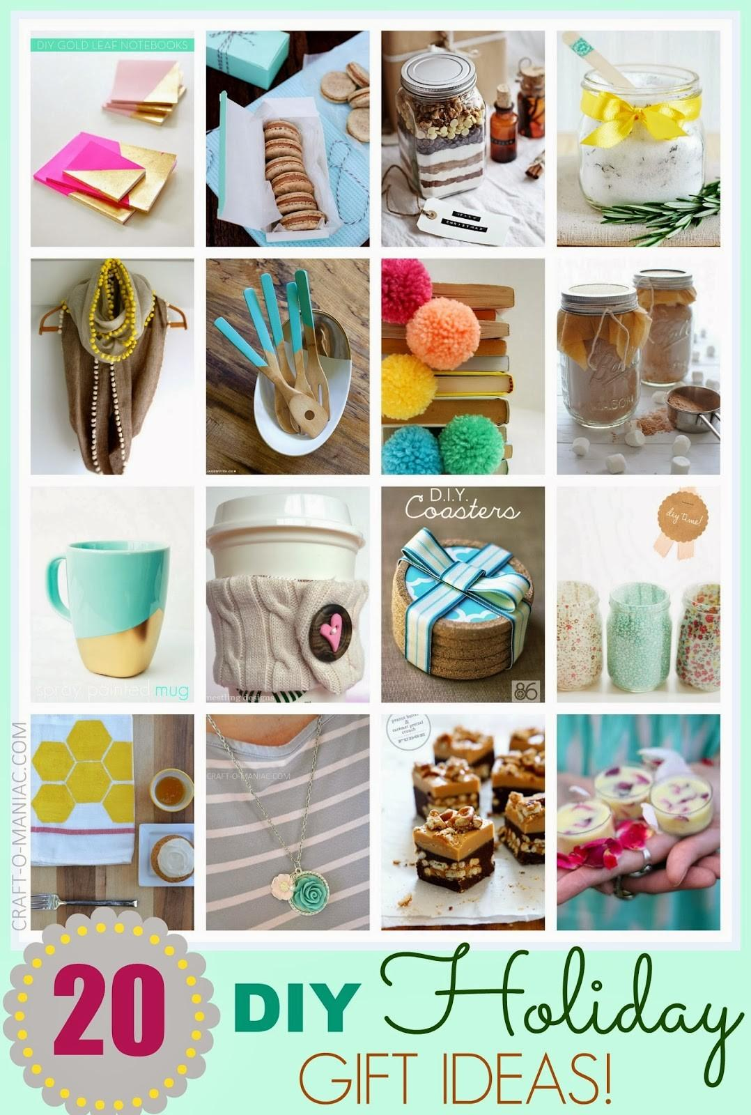 Top Diy Holiday Gift Ideas