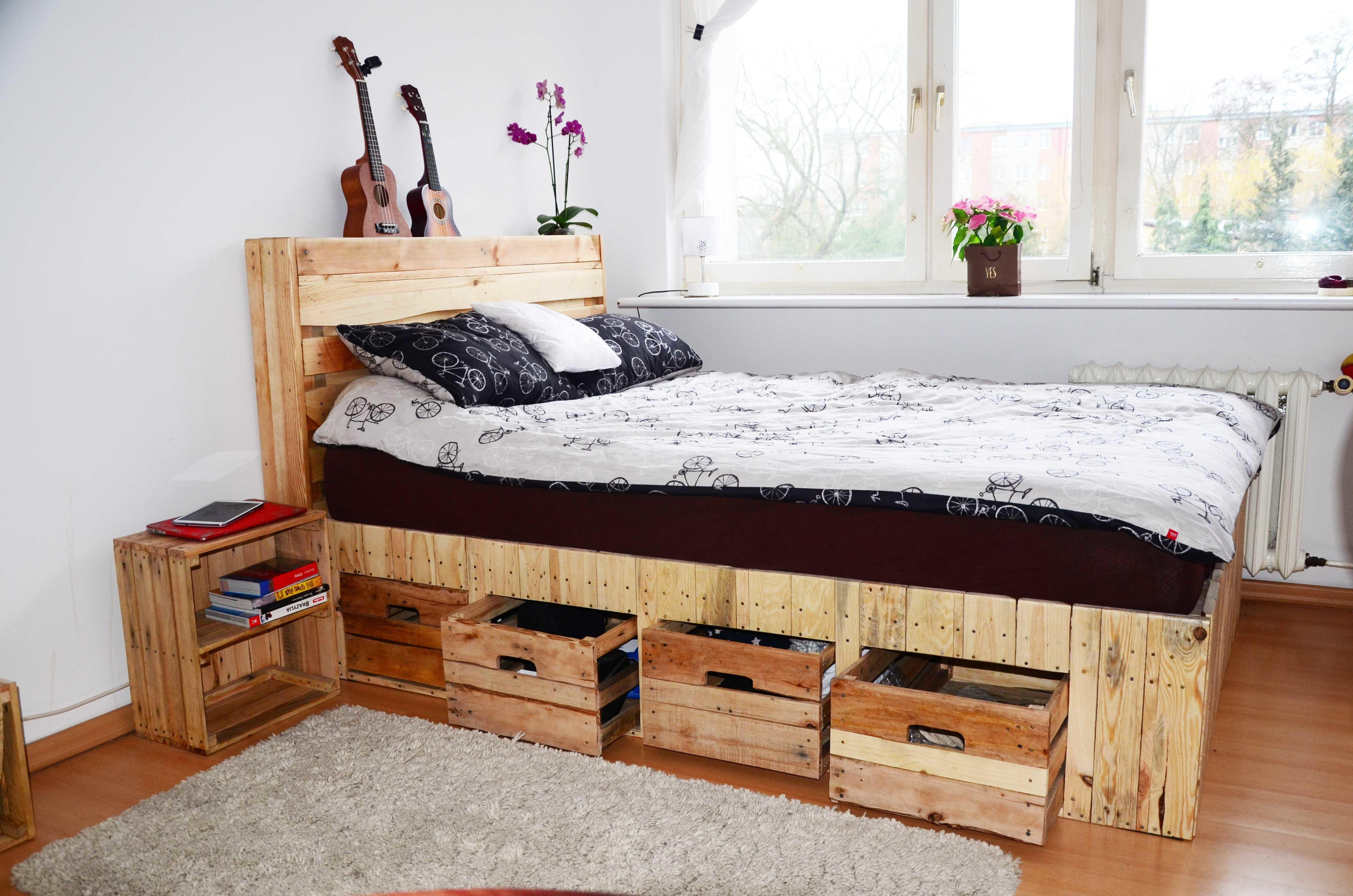 Top Diy Pallet Bed Projects Elly Blog
