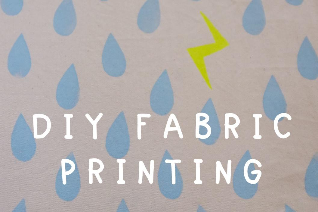 Top Diy Printing Fabric Creative Monoprint