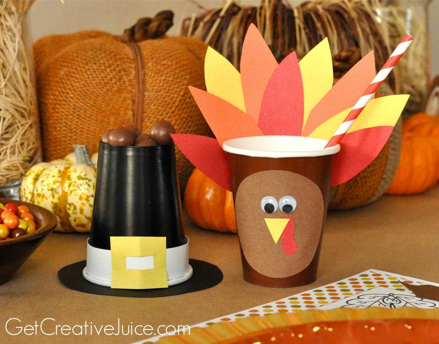 Top Diy Thanksgiving Decorations Neat