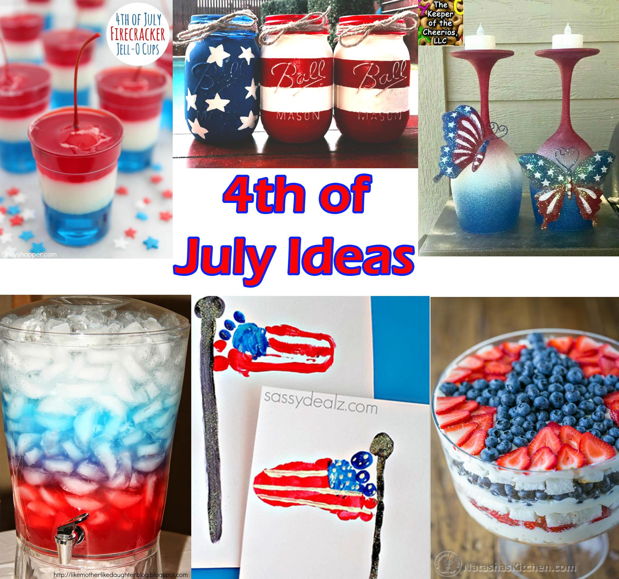 Top Fourth July Ideas Decorations