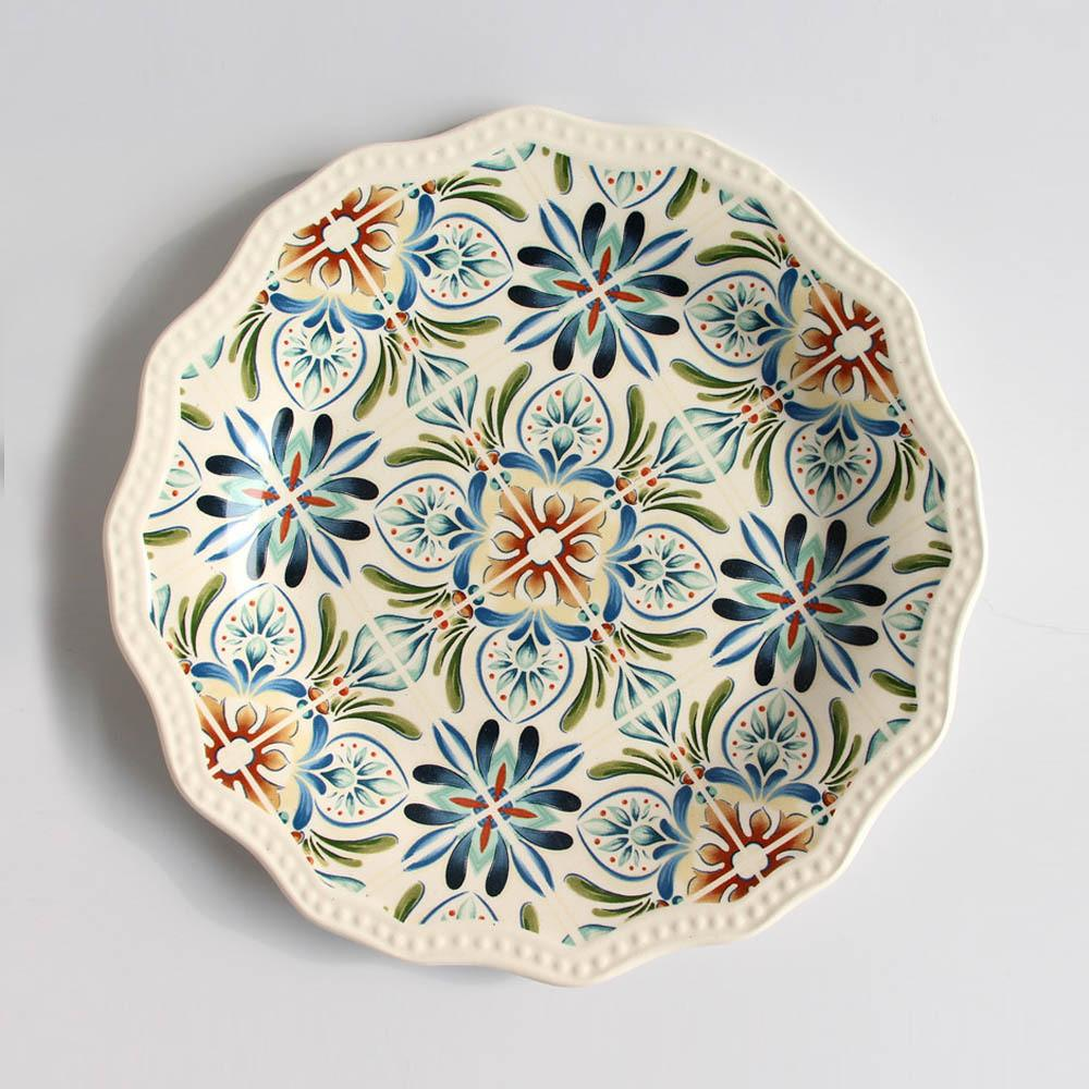 Top Grade Hand Painted Kitchen Home Decorative Dish