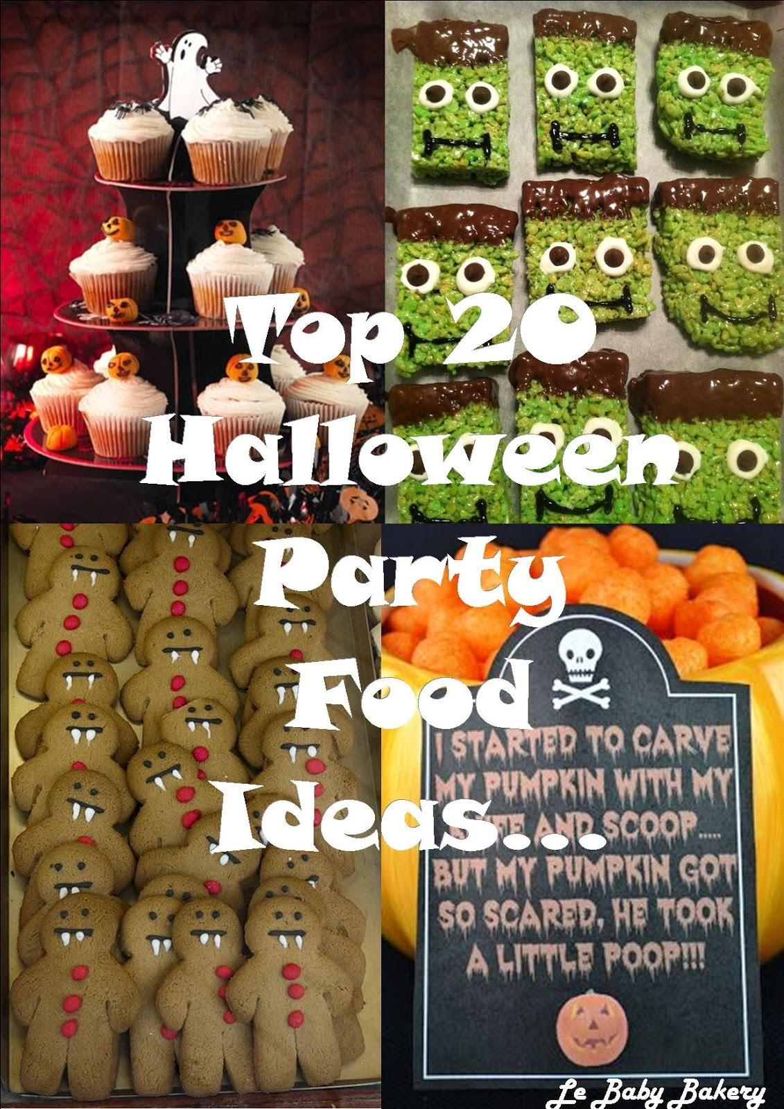 Top Halloween Party Food Ideas