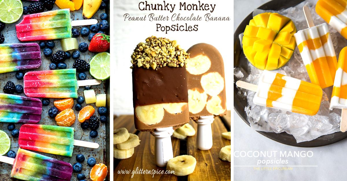 Top Homemade Popsicle Recipes Cute Diy