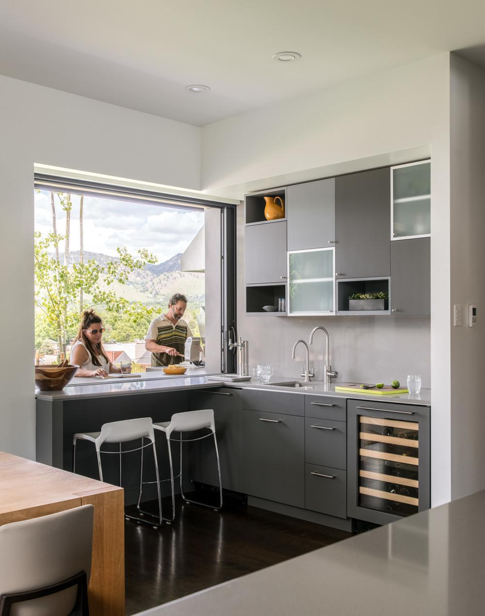 Top Kitchen Pass Through Window Outside Nice Home Design