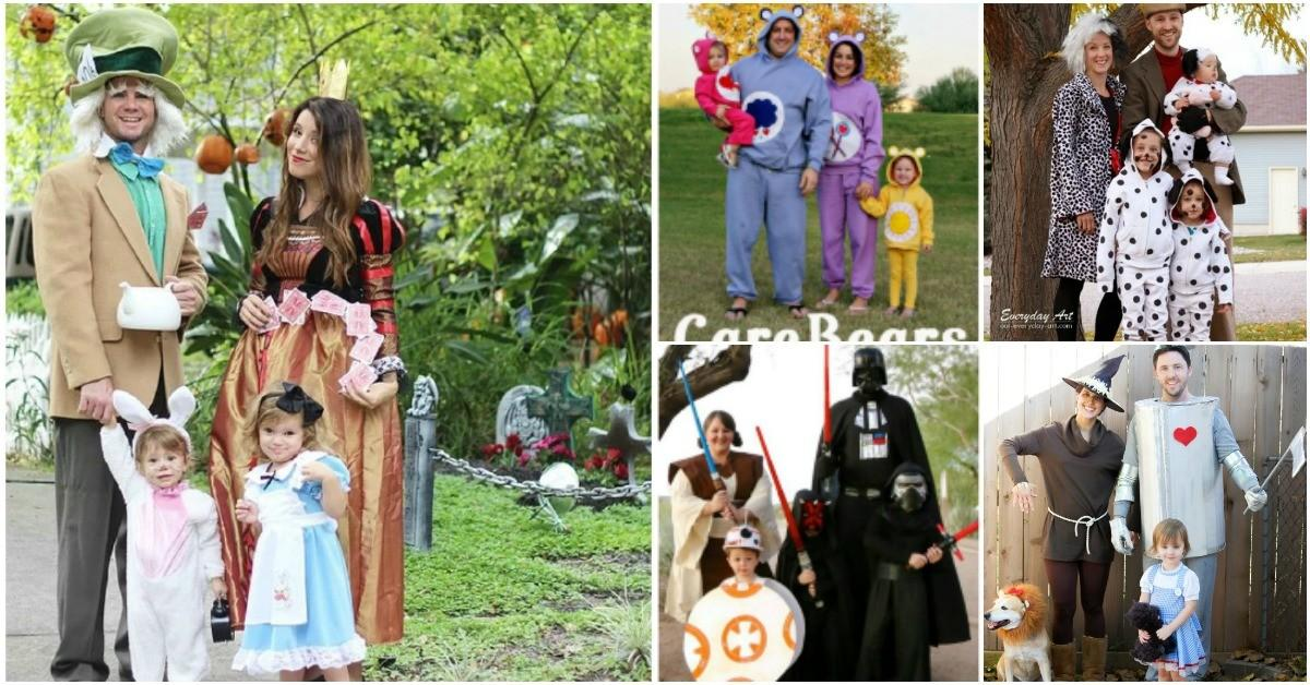 Top Most Creative Themed Diy Halloween Costumes