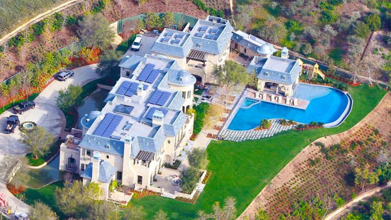 Top Most Expensive Pro Athlete Mansion Home 2016