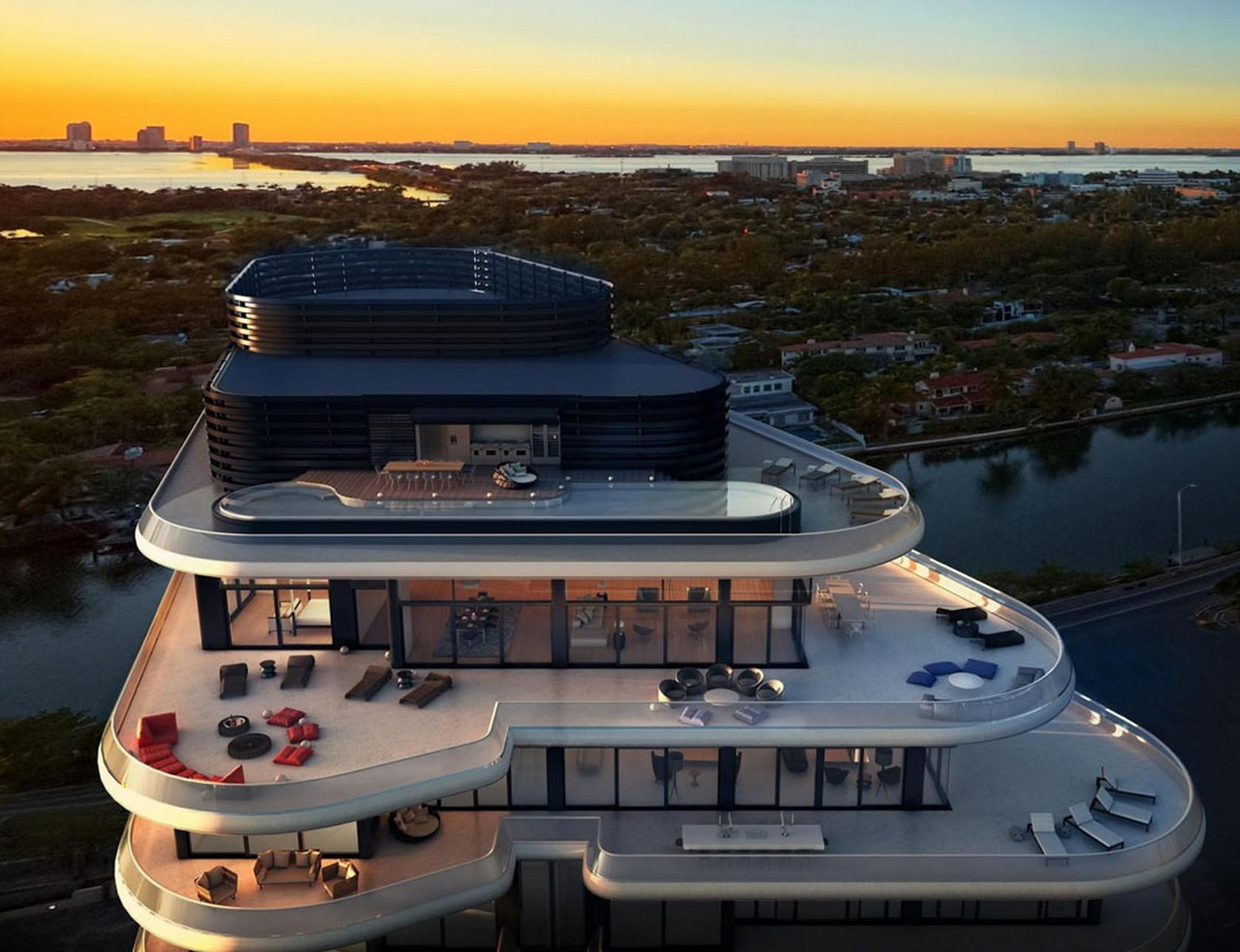 Top Most Extravagant Miami Penthouses Sale Sky