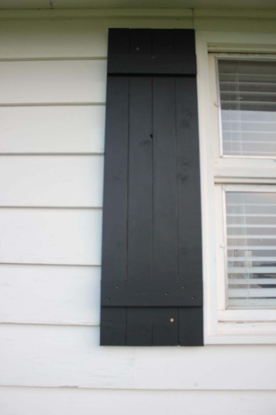 Top Painted Brick Exterior Have Diy Shutters