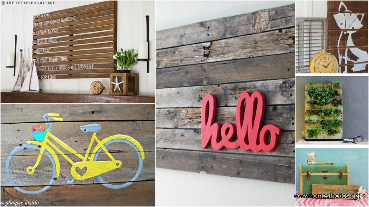 Top Pallet Wall Art Diy Projects Love