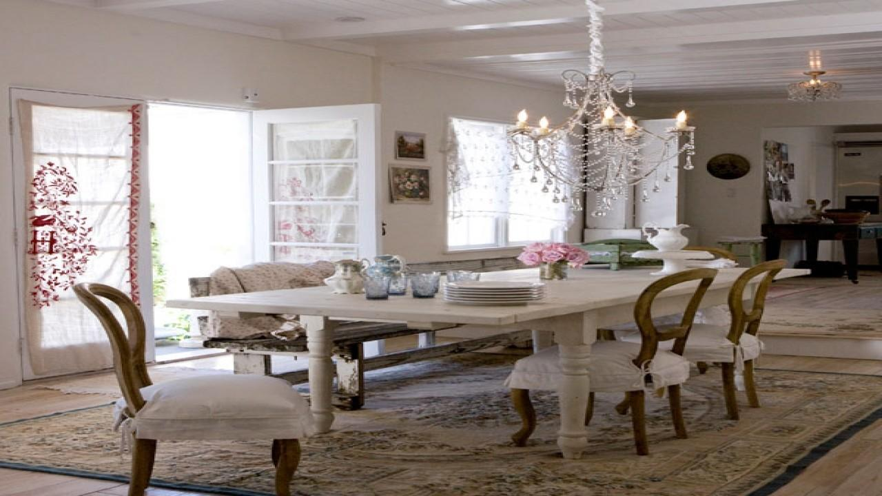 Top Rustic Shabby Chic Dining Room Beautiful