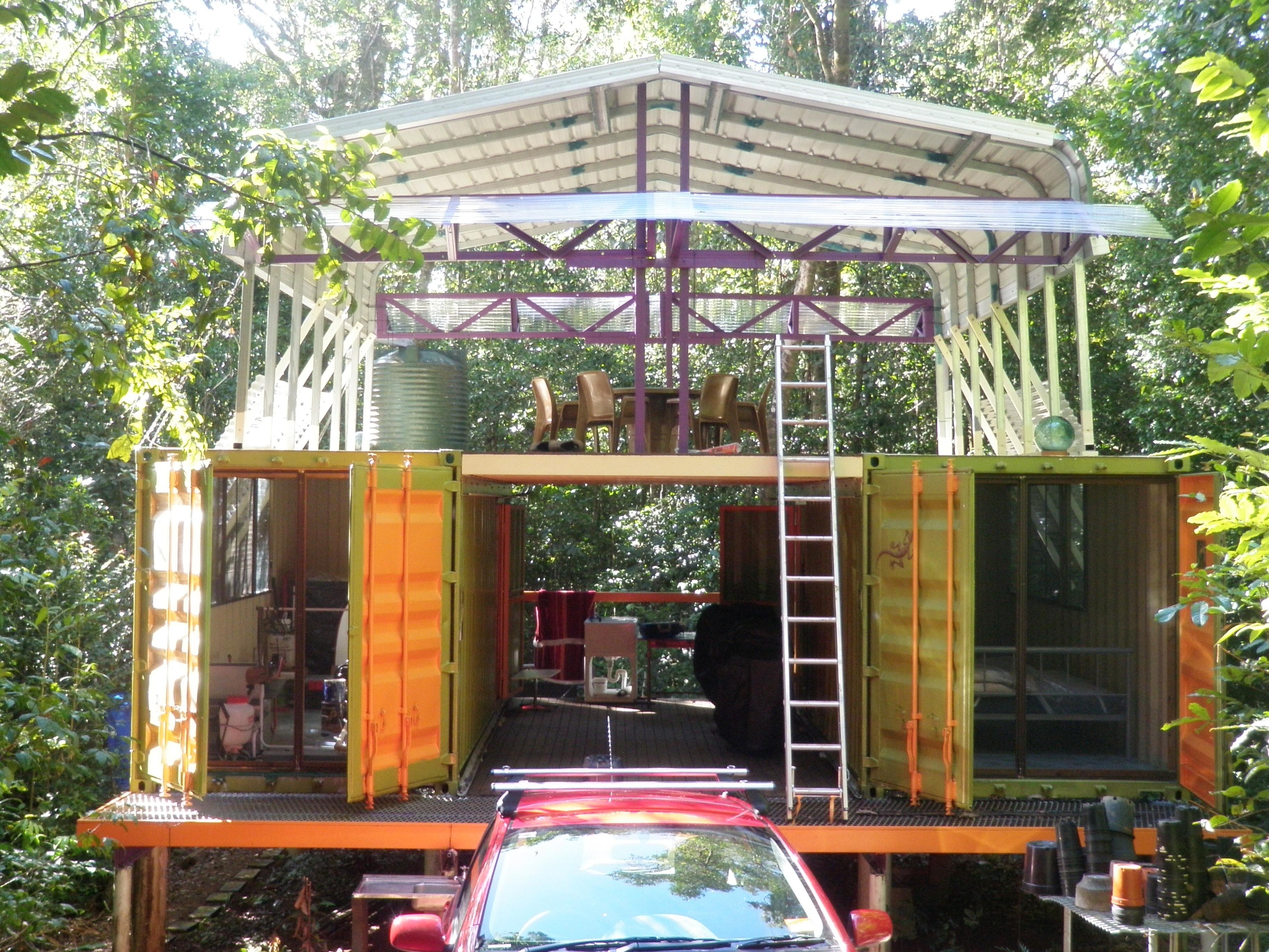 Top Shipping Container Homes Living