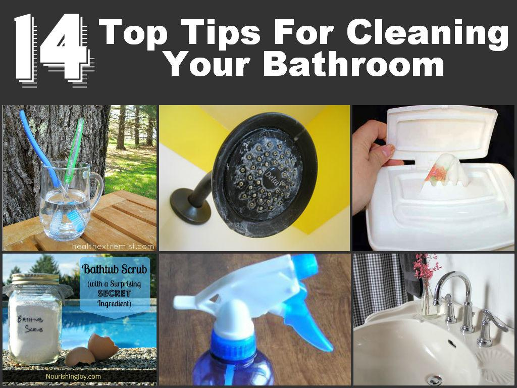 Top Tips Cleaning Your Bathroom