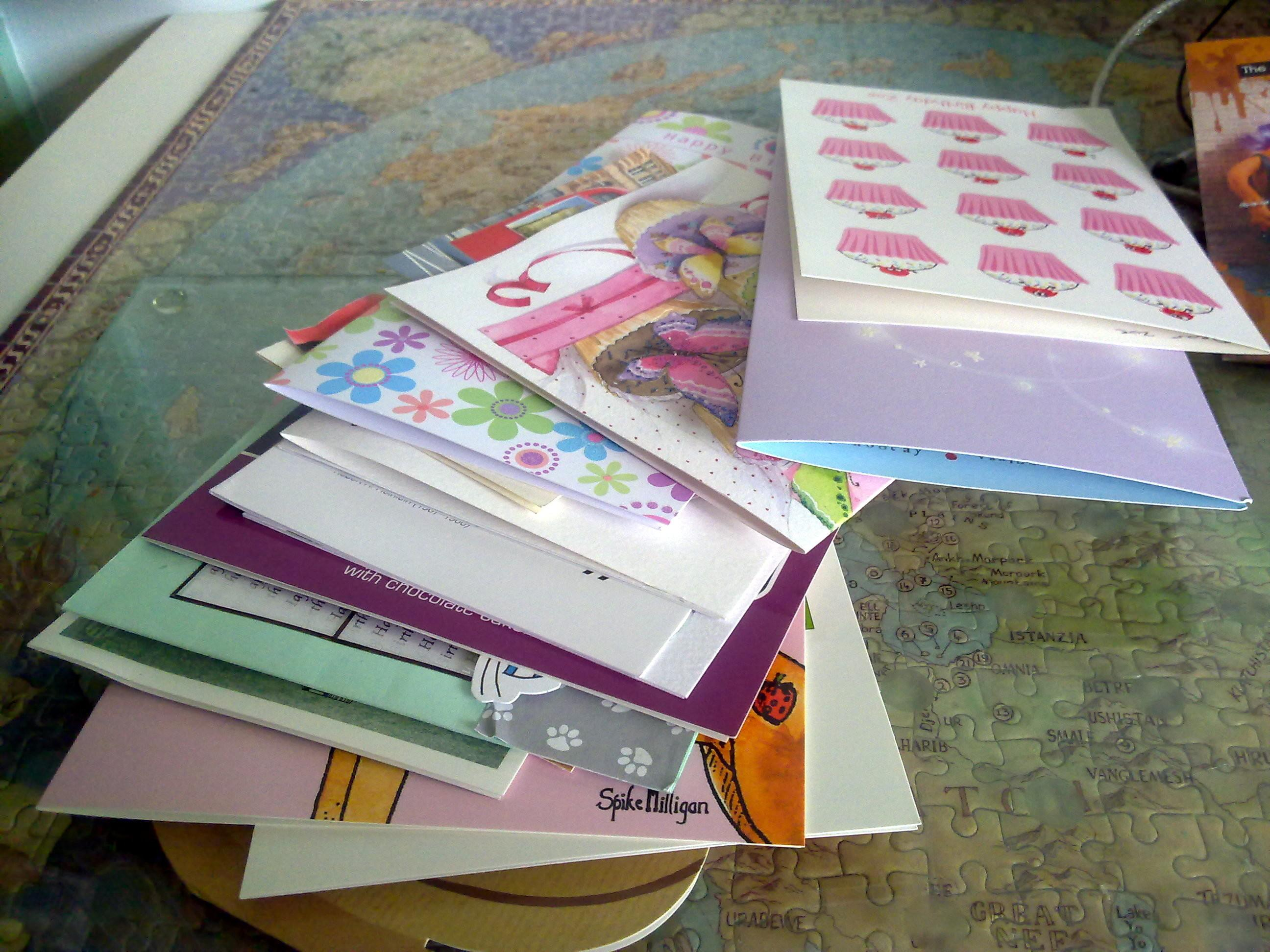 Top Tips Tuesday Recycle Your Old Greeting Cards Sew